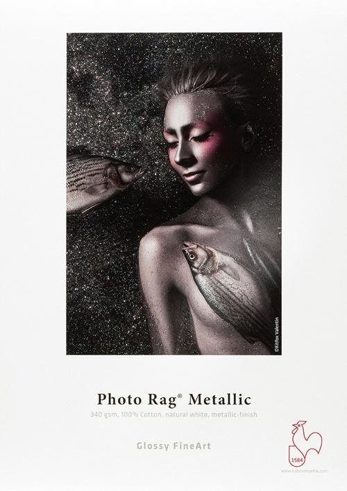 Papier photo HAHNEMUHLE Photo Rag Metallic 340g/m2