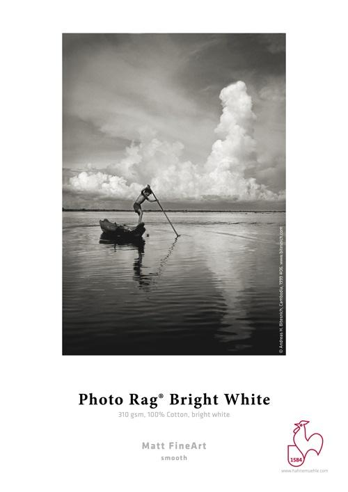 Papier photo HAHNEMUHLE Photo Rag Bright White 310g/m2